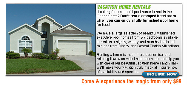 Rental Homes in Orlando